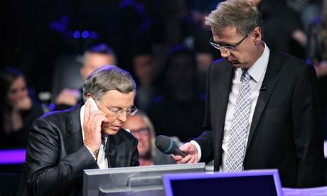 Angela Merkel misses Who Wants To Be A Millionaire Phone-a-Friend call from Wolfgang Bosbach
