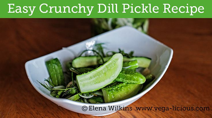 Ever wanted delicious pickles, but not the added sugar most recipes have? This easy dill pickle recipe will give you the crunch, minus sugar, all in less than 8 hours!