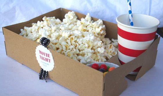 movie-party - Perfect for our outside movie nights this summer with friends!!  :)