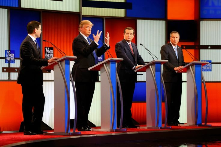 Watch The Republican Debate Turn Into A Dick-Measuring Contest. Literally. | ThinkProgress