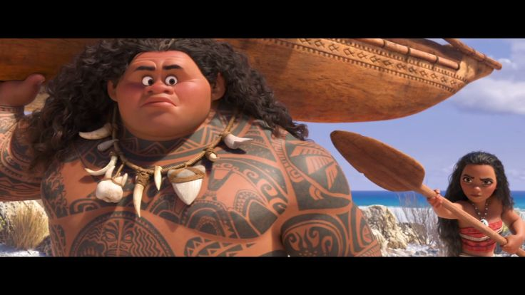 After travelling the seas Moana finally has her first encounter with demi-god Maui. Moana in cinemas now!