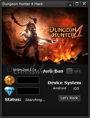 http://www.etoolsworld.com/dungeon-hunter-4-hack/ - Need gold to Dungeon Hunter 4? There is no problem, just check this stuff!