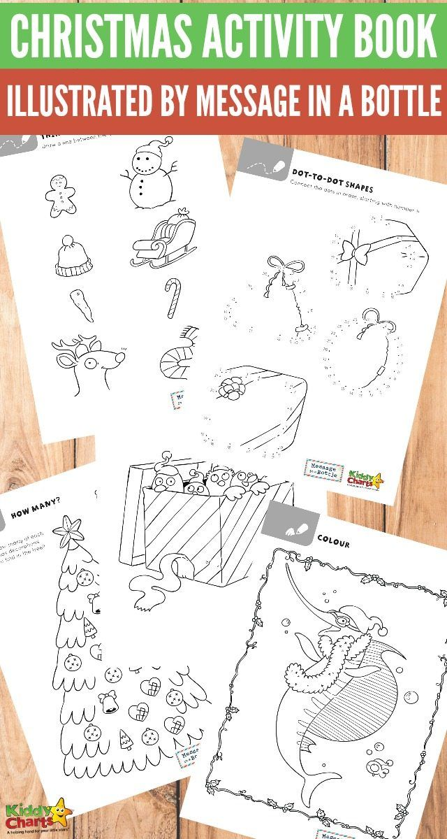 christmas activity ebook with message in a bottle a final giveaway to you all - Free Printable Christmas Activities