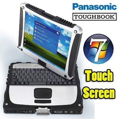 √ Panasonic Toughbook Rugged CF-18 Centrino 1.1Ghz 1280Mb 160Gb Touchscreen WiFi Tablet PC Windows 7 HOME Prezzi Offerte