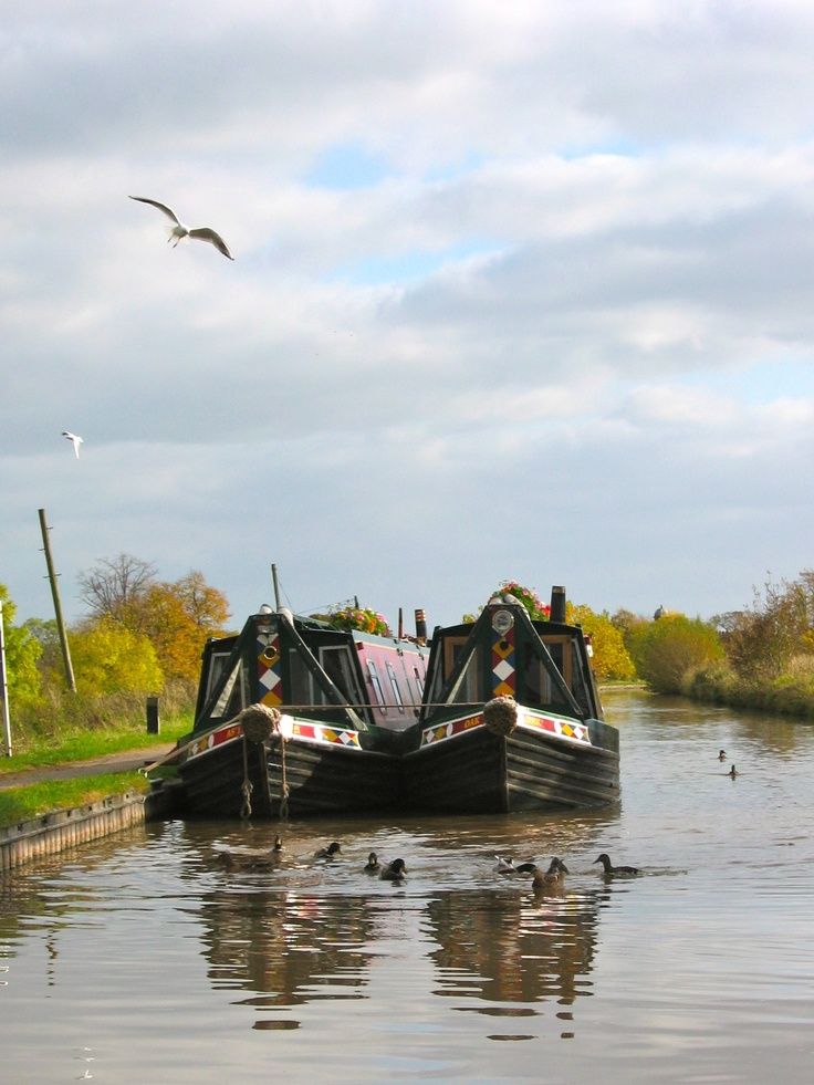 Narrowboats at Nantwich, Shropshire Union Canal