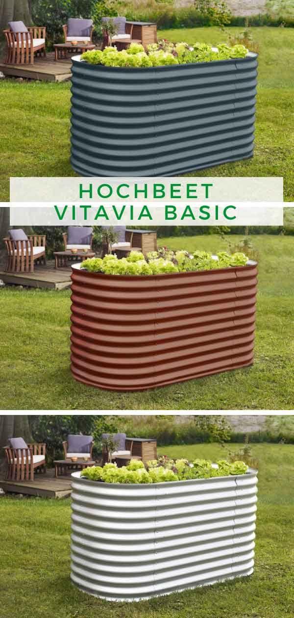 Hochbeet Vitavia Basic Hochbeet Gemuse Pflanzen Haus Und Garten