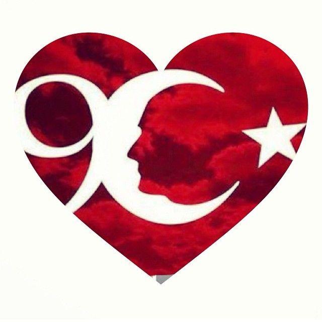 ♥ATATÜRK♥ Flag of Turkey More Pins Like This At FOSTERGINGER @ Pinterest
