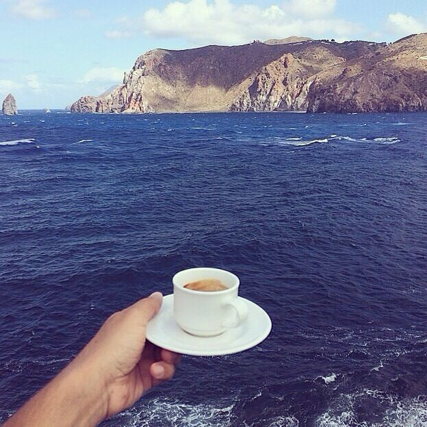 cheers to the world...as long as I have my coffee..