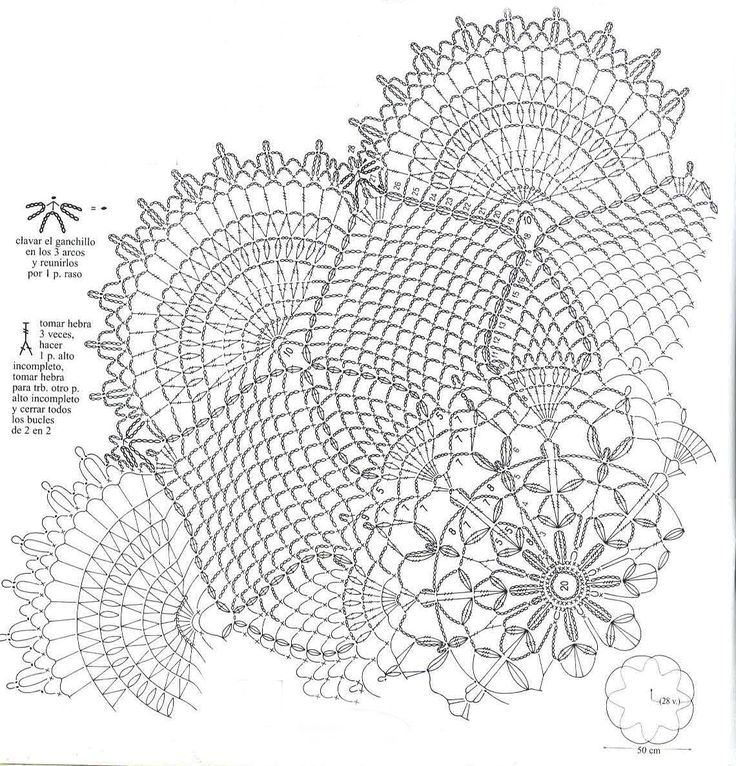 1000  ideas about crochet doily diagram on pinterest