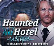 Haunted Hotel: Lost Dreams Collector's Edition - http://www.allgamesfree.com/haunted-hotel-lost-dreams-collectors-edition/  -------------------------------------------------  Elephant Games presents the newest spine-tingling entry in the Haunted Hotel series.After a horrible train accident, Mark wakes up to find that his wife has disappeared and he is trapped inside a mysterious hotel. His life begins to unravel as he quickly learns that there is a fine line between...  --
