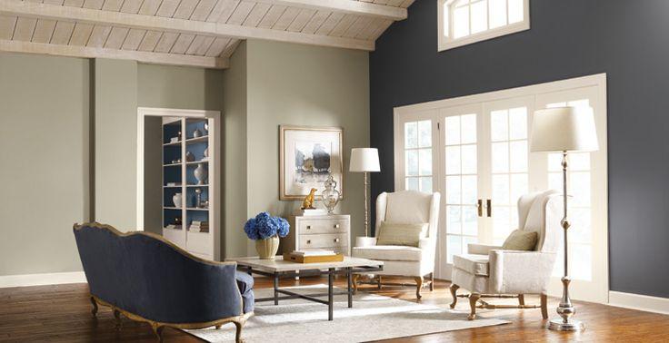 Die 58 besten Bilder zu Paint colors auf Pinterest Wandfarbe - wohnzimmer lila braun