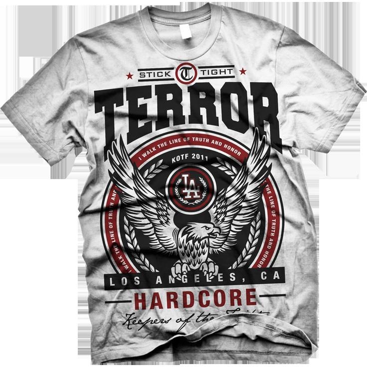 terror keepers of the faith tee