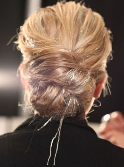 aww this looks just like the back of head when I got married, love that bun