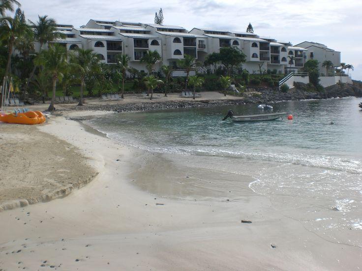 St Thomas Us Virgin Islands Elysian Beach Resort View Of The 200 Yard Beach St Thomas