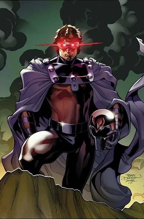 Cyclops x Magneto by Rachel and Terry Dodson *