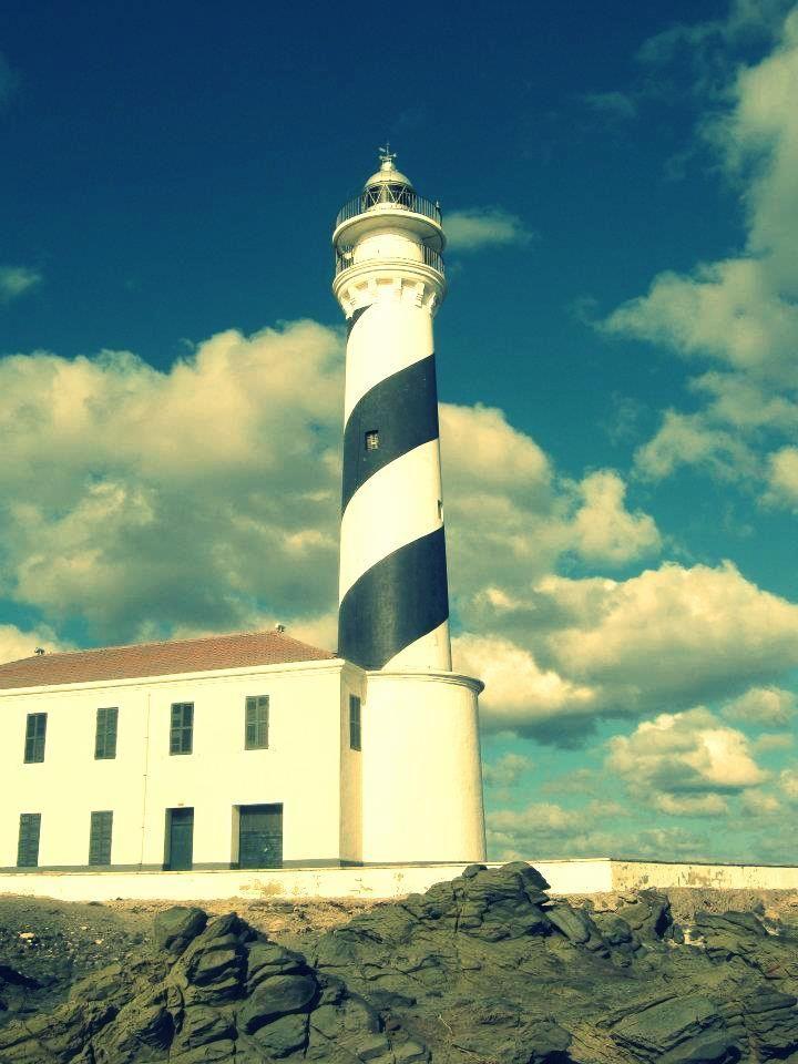 Faro de Favaritx op Menorca