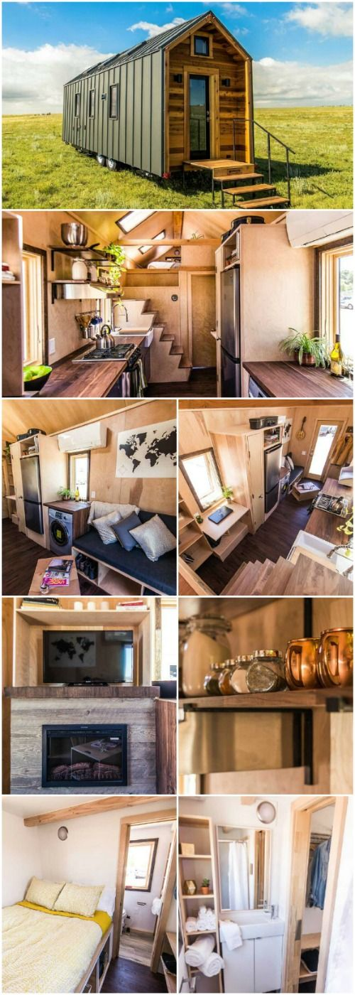 Farmhouse Traditional With Modern Amenities…The Farallon Tiny House Has it All - Tumbleweed Tiny Houses produces a wide range of modern and traditional houses. Their Farallon is a traditional farmhouse form that adds modern materials and amenities to give you a tiny house that has all the comforts of home.