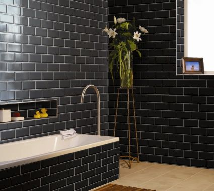 48 Best Images About Kitchen On Pinterest Black Tiles White Subway Tiles And Melbourne Cafe