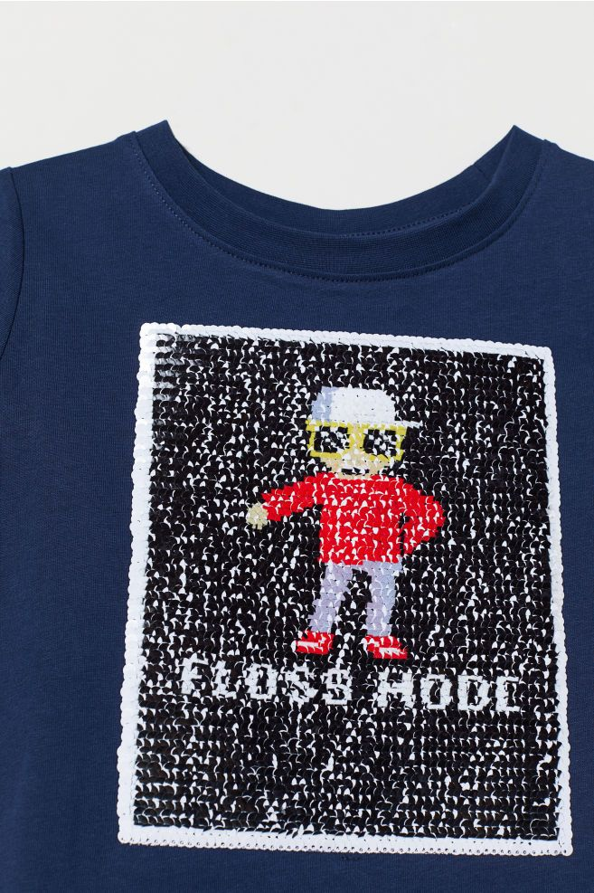 437701e2a T-shirt with Motif | Kids style | Shirts, T shirt, Sequin outfit