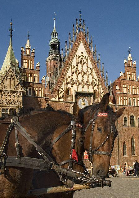 Poland Wroclaw Town Hall