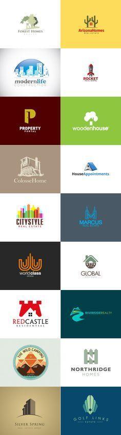 "Logo inspiration ""real estate"""