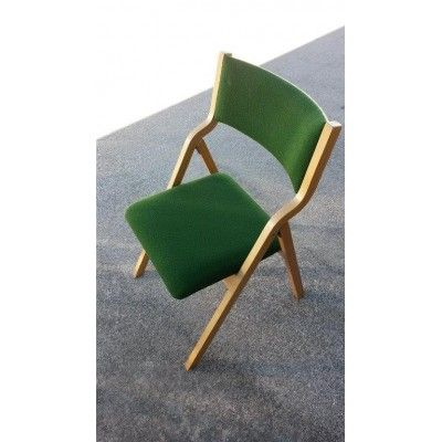 Green Fabric #Folding #Chair from Mallard solutions, can take you anywhere anytime.