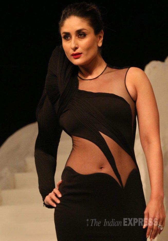 Kareena Kapoor turned showstopper for fashion designer Gaurav Gupta at the grand finale of Lakme Fashion Week Winter/Festive 2015.