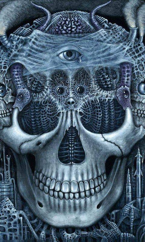 #skulls #art