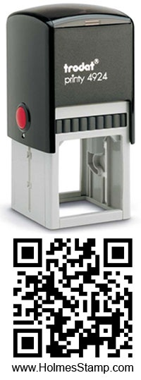 No excuses for not sticking your #qrcodes all over the shop with one of these