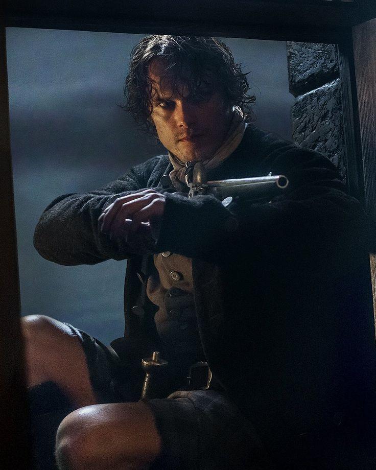 Sam Heughan as Jamie Fraser in Outlander on Starz via http://www.popsugar.com/entertainment/Sexy-Scenes-From-Outlander-37151659#opening-slide