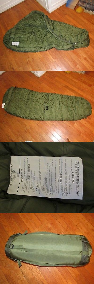 Sleeping Bags 87100: Extreme Cold Weather (Ecw) Military Sleeping Set - Isratex Inc -> BUY IT NOW ONLY: $110 on eBay!
