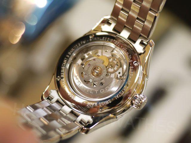ハミルトン長谷川の腕時計 : ハミルトン新作「ジャズマスター ビューマチック スケルトン」入荷!2013年新作モデル