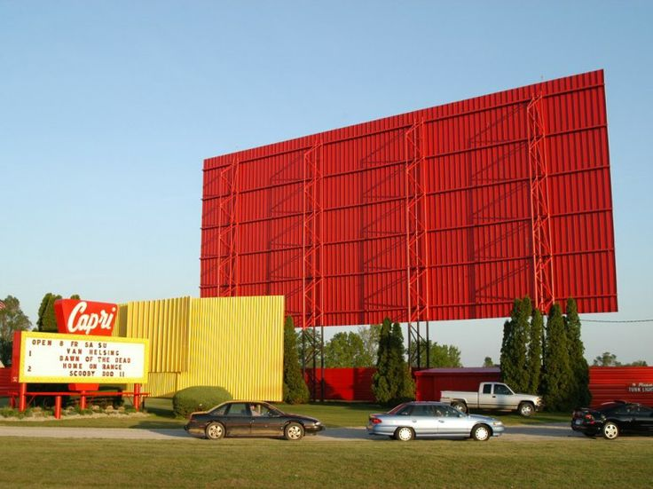 Drive In Movie Theater Coldwater Mi