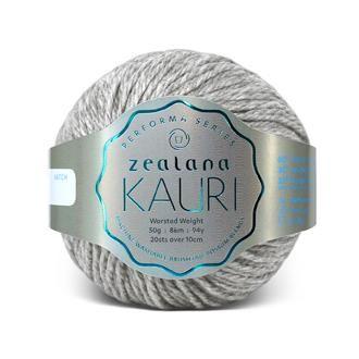 Zealana KAURI Worsted K13 Ashen