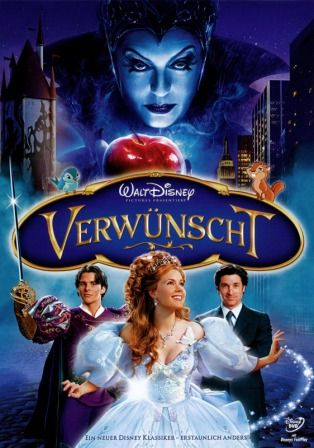 Enchanted (2007) Worldfree4u  Watch Online Full Movie Free Download 250MB BRRip 480P English ESubs  Khatrimaza  Mp4 Movies