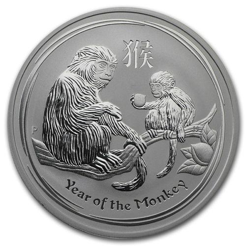 New-2016-Australian-Silver-Lunar-Year-of-The-Monkey-1oz-Bullion-Coin-in-Capsule