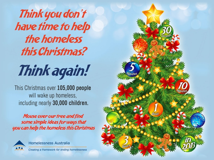 Practical ways to help the homeless this Christmas