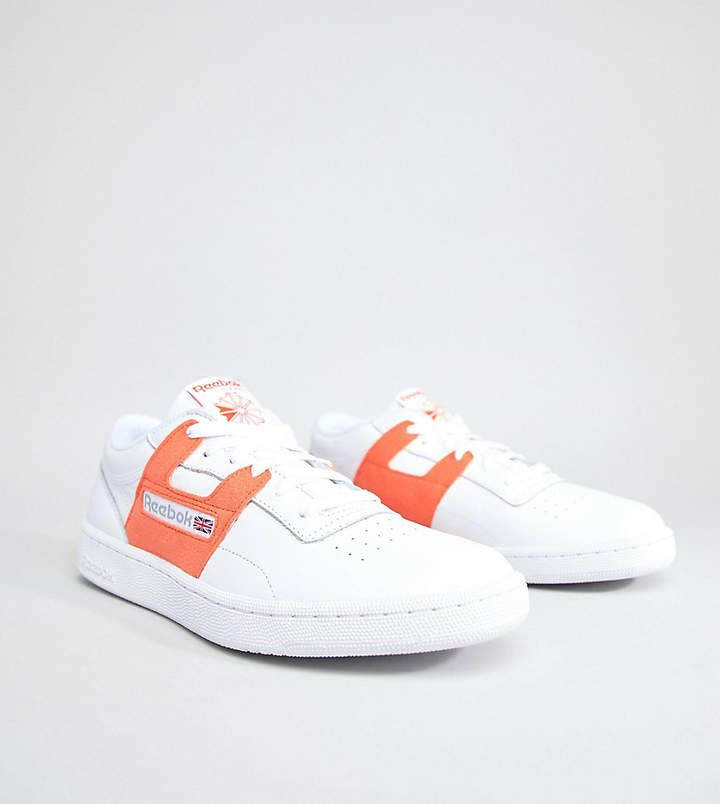 Reebok 'Leisure Pack' Club Workout Sneakers In White Exclusive to ASOS C...