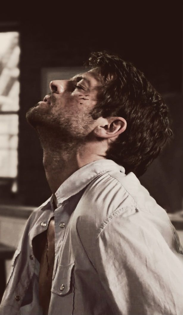 I know he's in pain so I probably shouldn't think this is so hot but...I mean...DAMN.