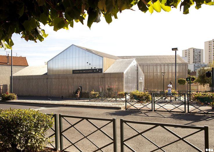 SOA Architects Paris > Projects > SAINT-GRATIEN NURSERY
