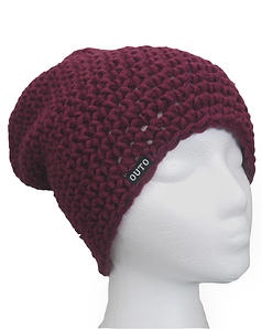 Outo Basic+! This beanie is warmer version of the basic. Bigger hook with a bigger yarn creates a cosy beanie for winter. Finnish design made with love - out of Finnish Novita wool.
