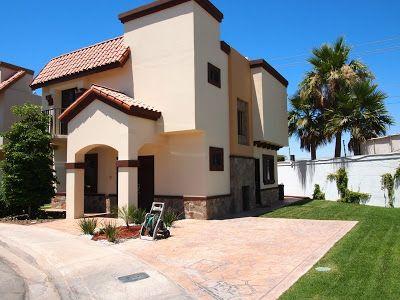 Fachadas mexicanas y estilo mexicano fachada de casa Estilos de fachadas para casas pequenas