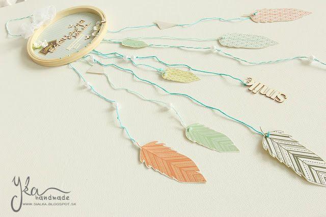 Yka handmade: Lapač snov