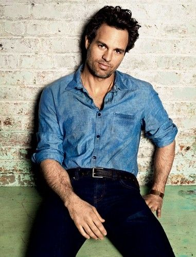 Mark Ruffalo- hmmm I'm strangely attracted to him even when he is a large green man....