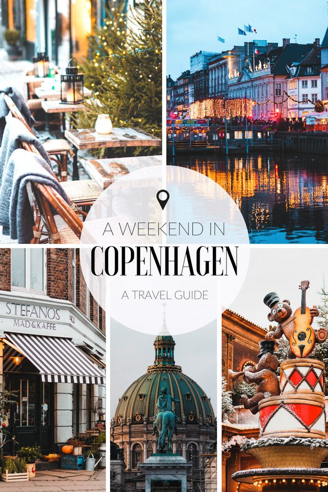 Exploring Copenhagen in December: A three-day travel guide to Christmas markets, Nyhavn, and the best cafes in the city! | Find out how to make the most of a long weekend in Copenhagen! #Copenhagen #Denmark #travelguide #cityguide #travelling #citybreak #holiday #Europe