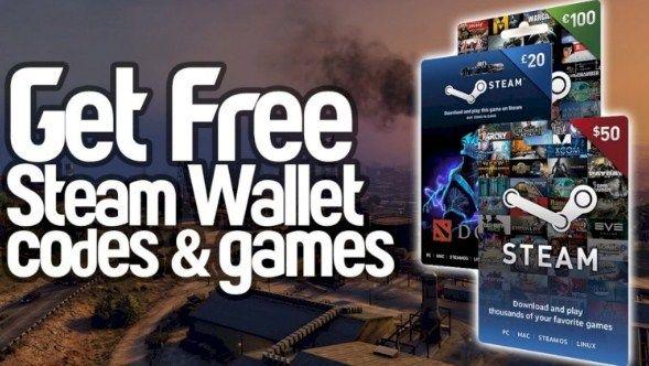 Free 100 Steam Wallet N Steam Key Codes Free Gift Card Generator Wallet Gift Card Gift Card