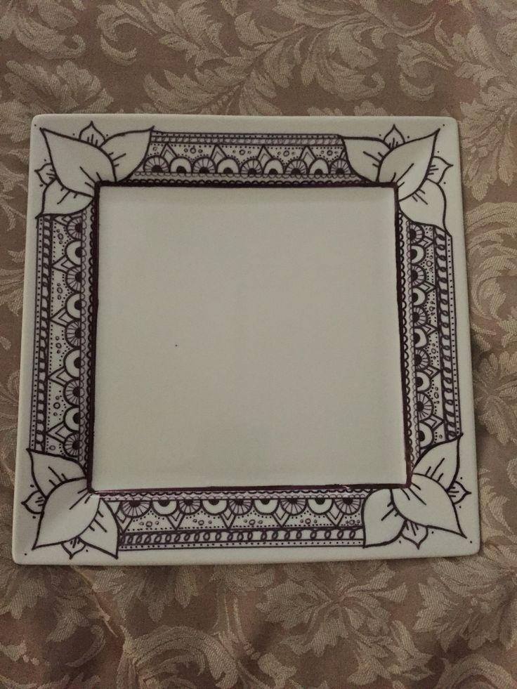 Platter zentangle  Original works