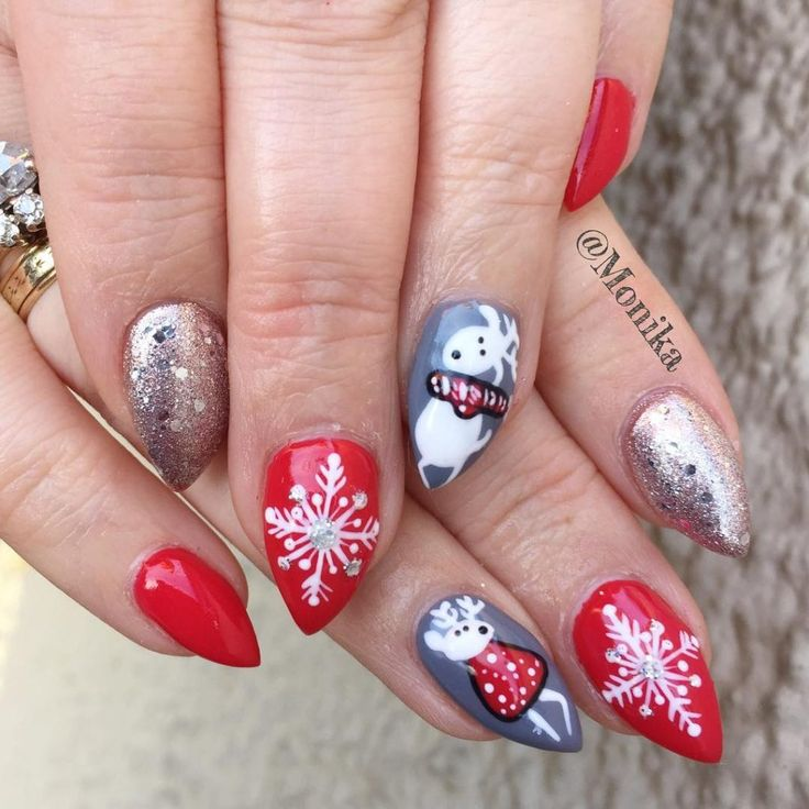 Winter Nail Designs 2017: 107 Best Winter Nail Art Design 2017/2018 Images On