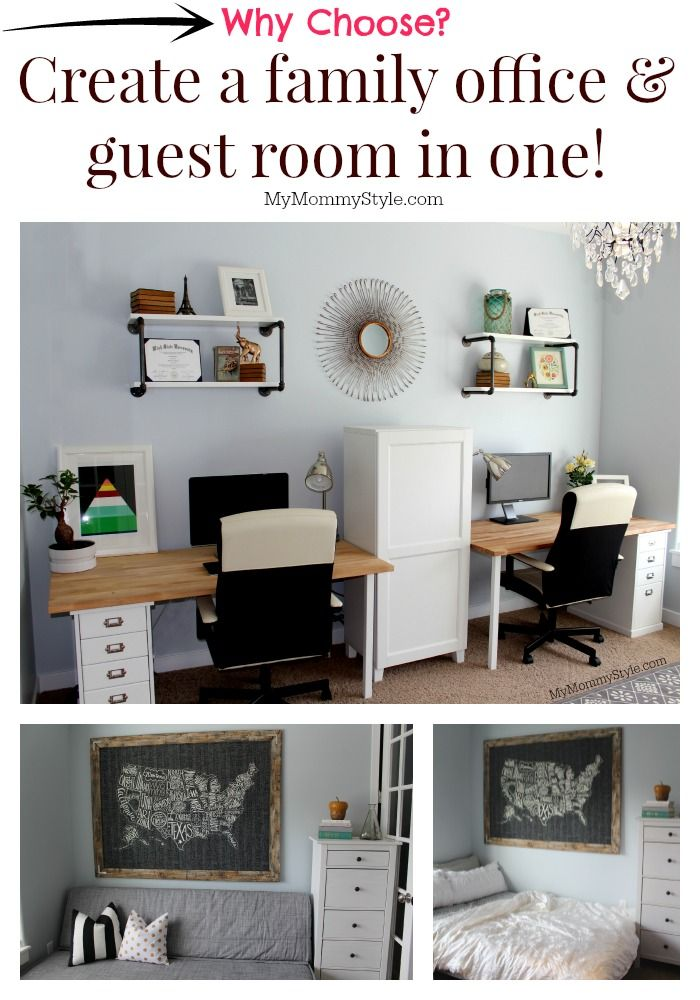 18 best backyard office guest room ideas images on - Small guest bedroom office ideas ...