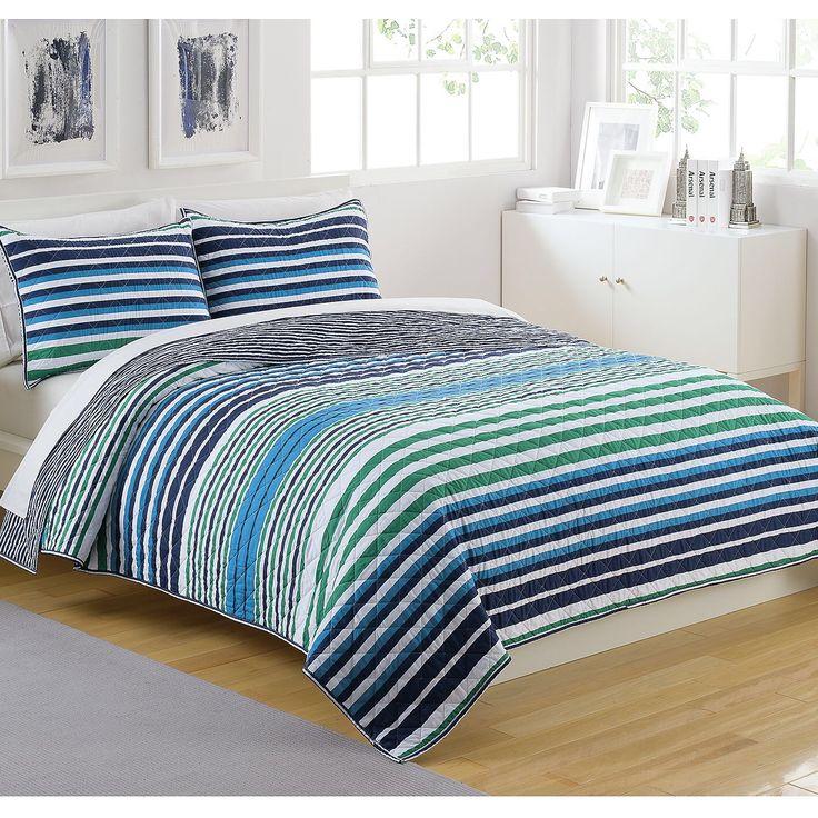 King Bed Bedroom Nice Bedroom Decor Bedroom Chairs Ikea Art Deco Bedroom Wallpaper: Parker Striped Comforter Set
